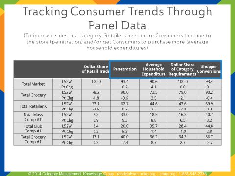 Tracking Consumer Trends Through Panel Data