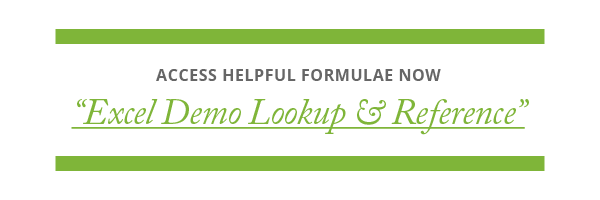"Watch a video guide of ""Excel Demo Lookup & Reference Formulae"" from Category Management Knowledge Group"