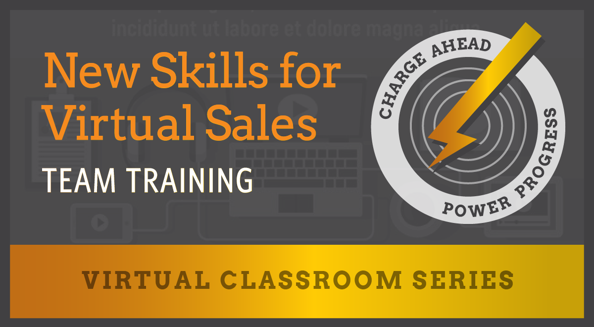 New Skills for Virtual Sales - Team Training - Virtual Classroom Series from CMKG
